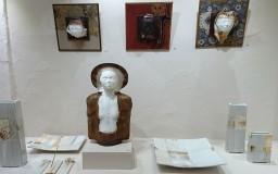La galerie d'art d'Annie D'Oréfice à Oingt